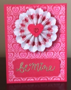 Valentine Rosette 1