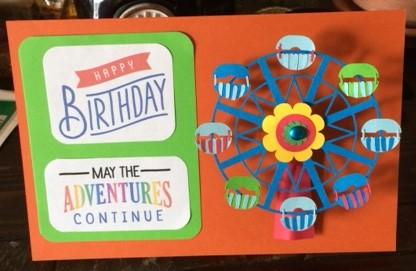 Interactive Ferris Wheel Birthday Card – Interactive Birthday Cards