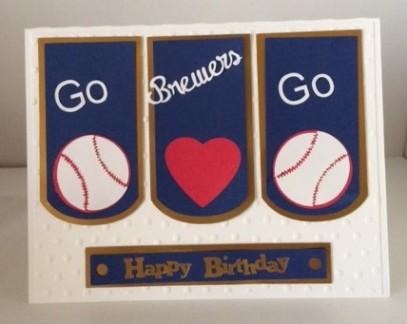 baseball card front